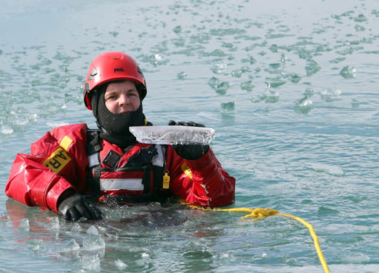 Ice Water Rescue Training Cobourg February 21, 2021129