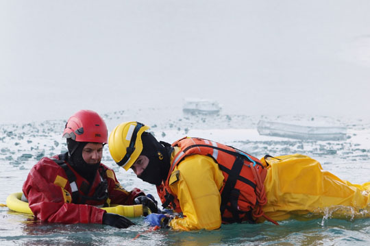 Ice Water Rescue Training Cobourg February 21, 2021132