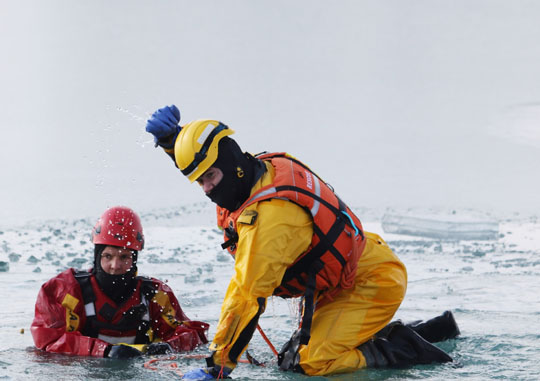 Ice Water Rescue Training Cobourg February 21, 2021133