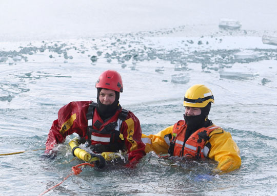 Ice Water Rescue Training Cobourg February 21, 2021134