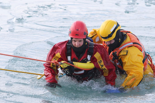Ice Water Rescue Training Cobourg February 21, 2021136
