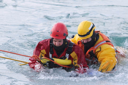 Ice Water Rescue Training Cobourg February 21, 2021137