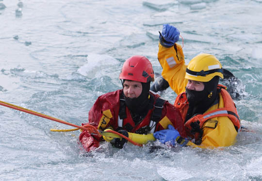 Ice Water Rescue Training Cobourg February 21, 2021139
