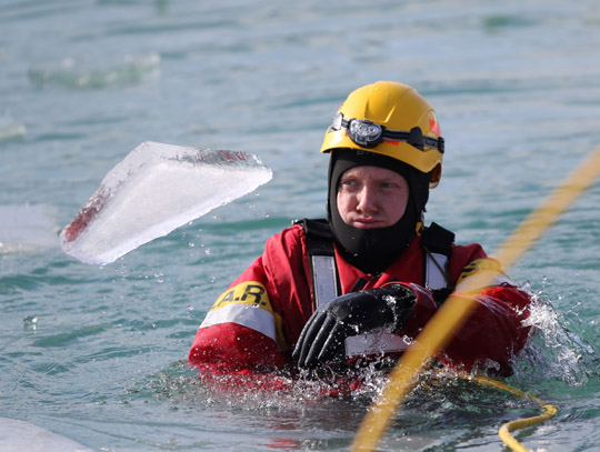 Ice Water Rescue Training Cobourg February 21, 2021148