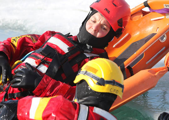 Ice Water Rescue Training Cobourg February 21, 2021151