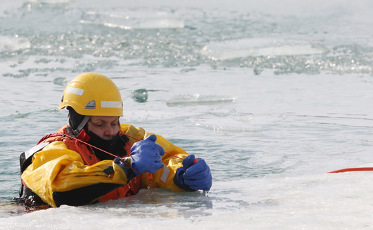 Ice Water Rescue Training Cobourg February 21, 2021154