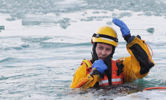 Ice Water Rescue Training Cobourg February 21, 2021155