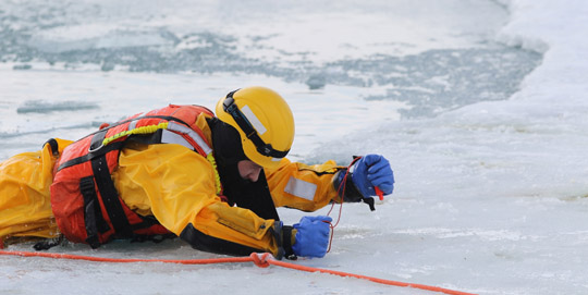Ice Water Rescue Training Cobourg February 21, 2021156