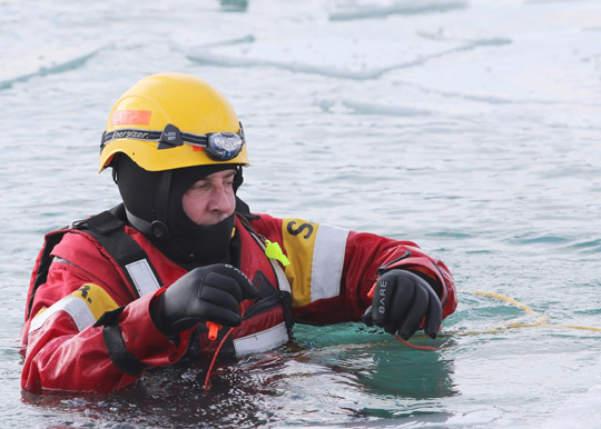 Ice Water Rescue Training Cobourg February 21, 2021157