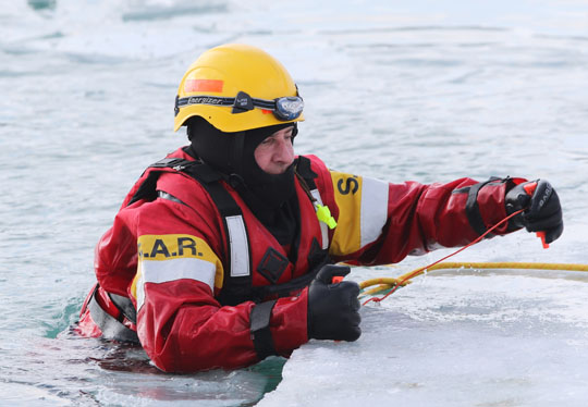 Ice Water Rescue Training Cobourg February 21, 2021158