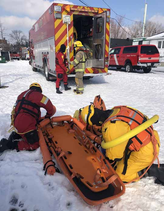 Ice Water Rescue Training Cobourg February 21, 2021164