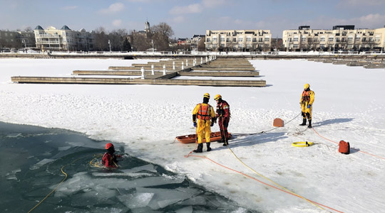 Ice Water Rescue Training Cobourg February 21, 2021168