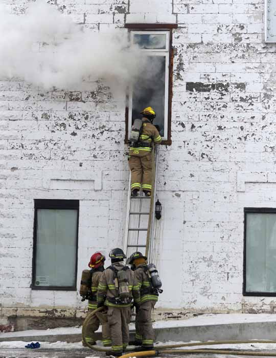 Structure Fire Colborne February 13, 2021711