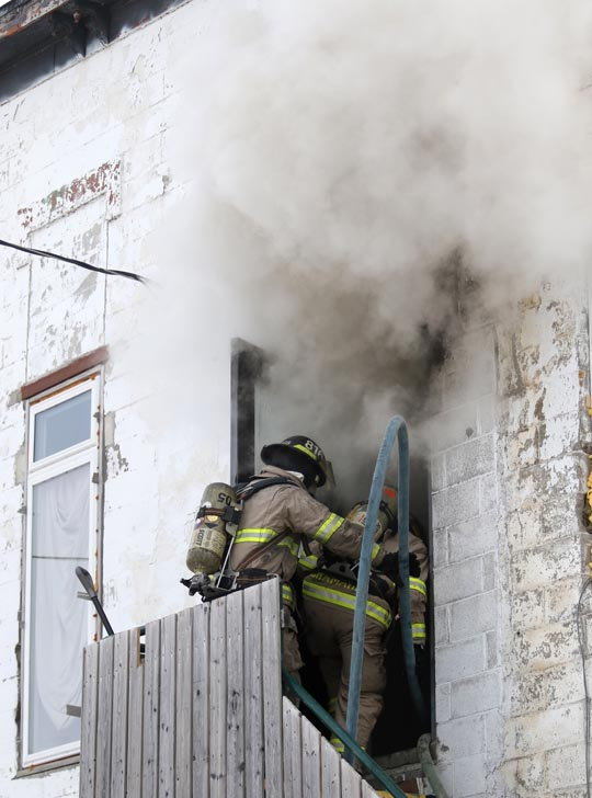 Structure Fire Colborne February 13, 2021721