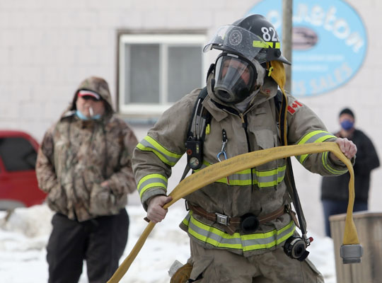 Structure Fire Colborne February 13, 2021722