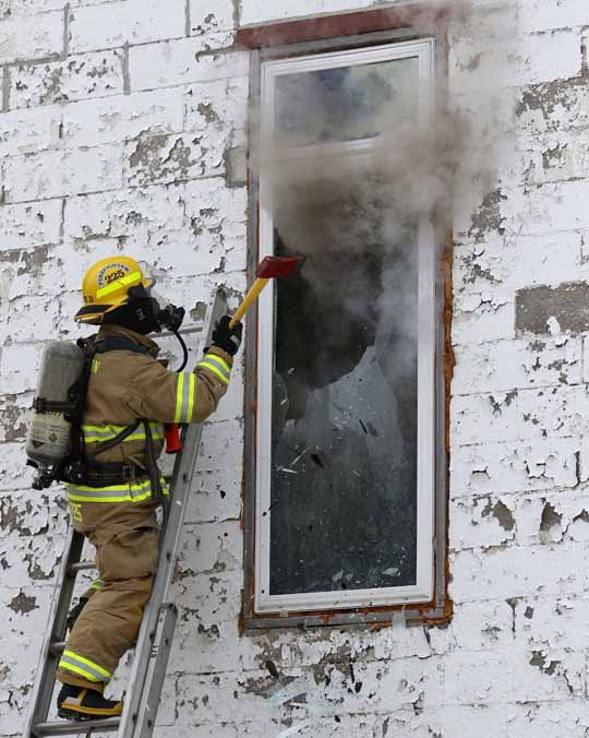 Structure Fire Colborne February 13, 2021727