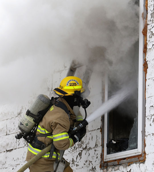 Structure Fire Colborne February 13, 2021730