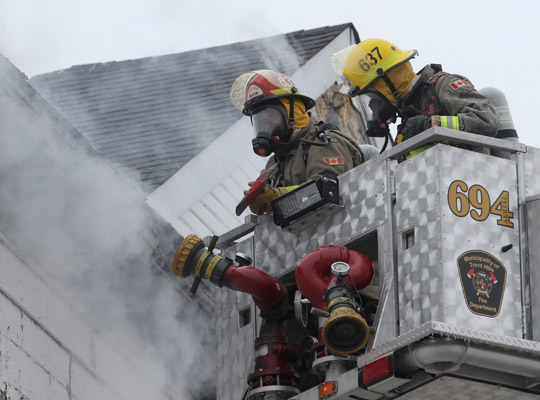 Structure Fire Colborne February 13, 2021738
