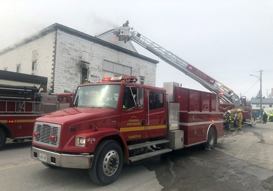 Structure Fire Colborne February 13, 2021743