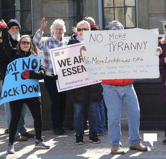 COVID Protest Cobourg March 20, 2021601