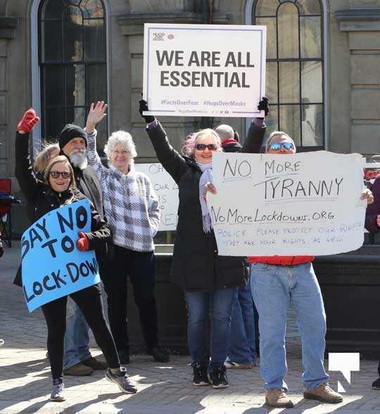 COVID Protest Cobourg March 20, 2021602