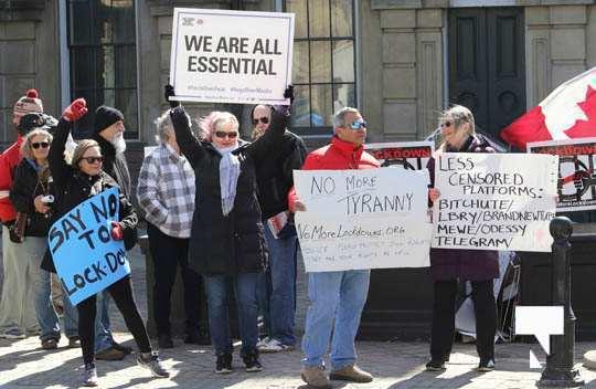 COVID Protest Cobourg March 20, 2021603