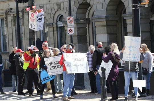 COVID Protest Cobourg March 20, 2021604