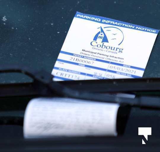 Parking Tickets Cobourg March 5, 202193