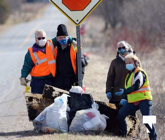 Telephone Road Clean Up March 29, 2021847