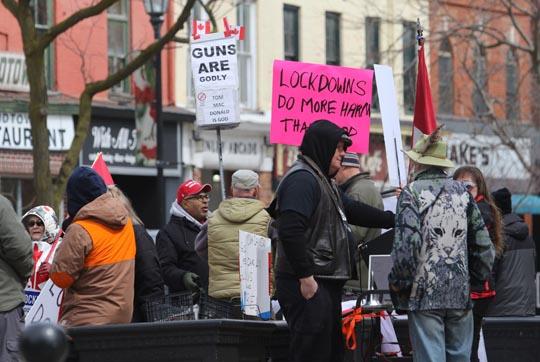 COVID Protest Victoria Hall April 3, 2021966