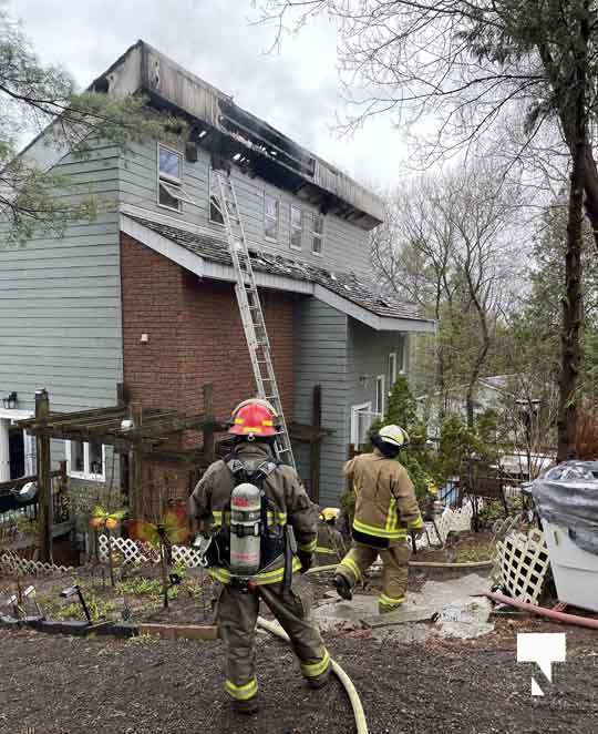 Hamilton Township House Fire april 11, 20211374