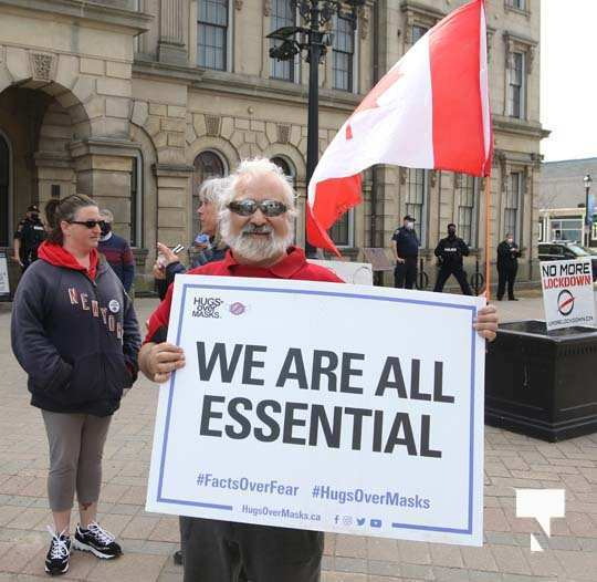 Protest Victoria Hall April 4, 20211329