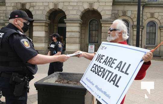 Protest Victoria Hall April 4, 20211338