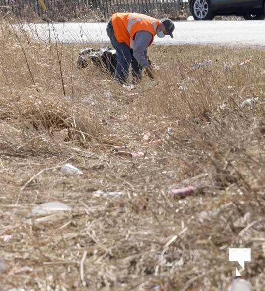 Telephone Road Clean Up April 5, 20211443