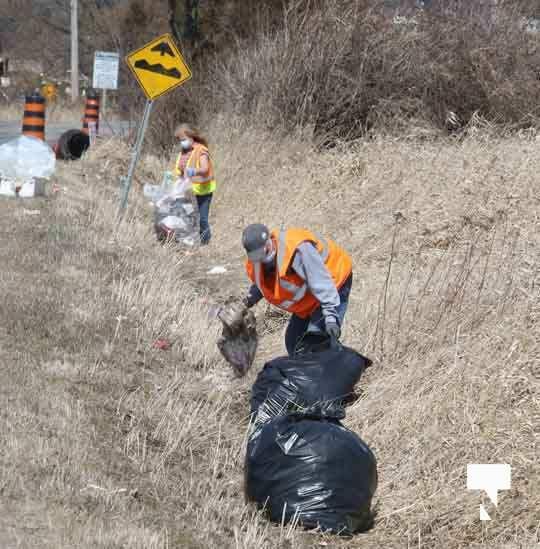 Telephone Road Clean Up April 5, 20211446