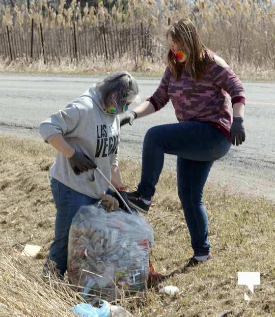 Telephone Road Clean Up April 5, 20211447