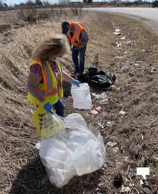 Telephone Road Clean Up April 5, 20211452