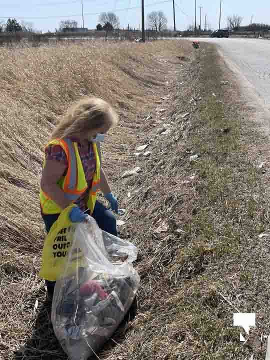 Telephone Road Clean Up April 5, 20211453
