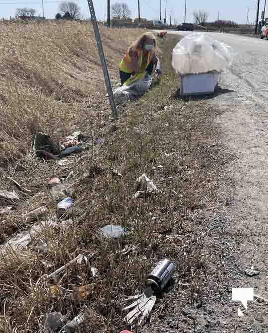 Telephone Road Clean Up April 5, 20211454