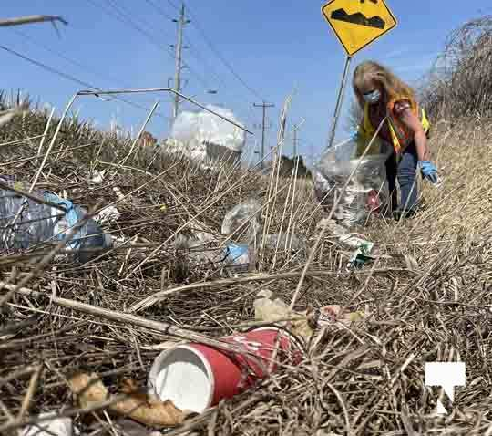 Telephone Road Clean Up April 5, 20211455