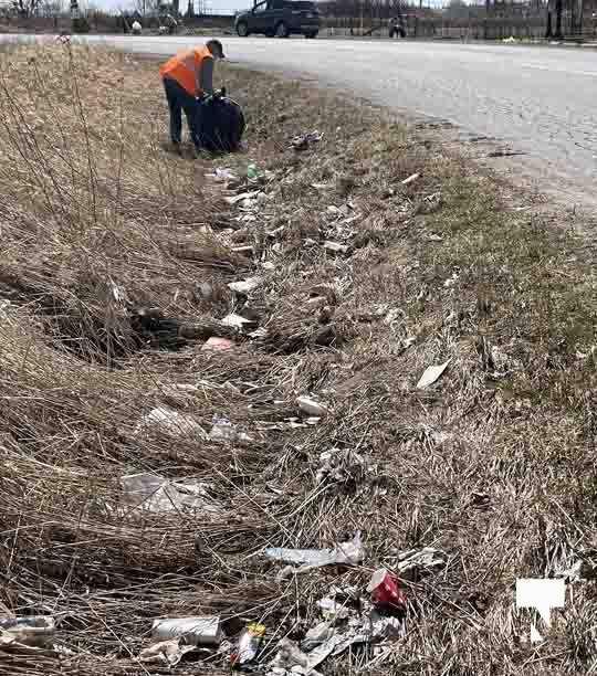 Telephone Road Clean Up April 5, 20211456