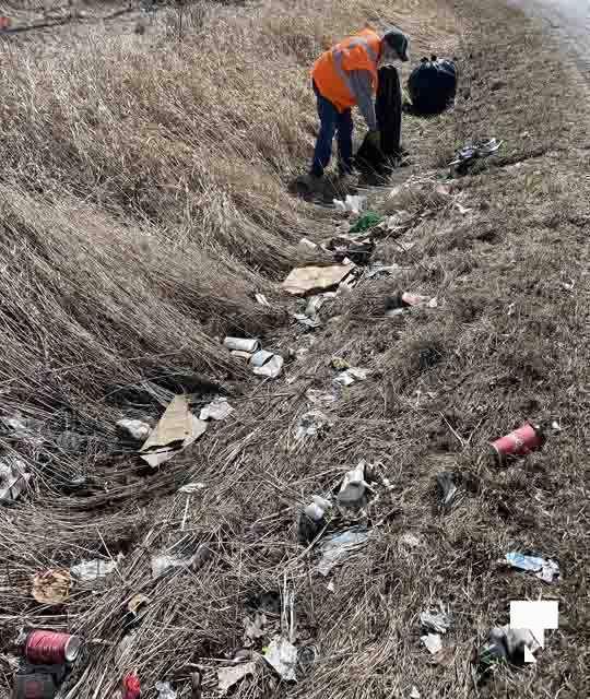 Telephone Road Clean Up April 5, 20211458