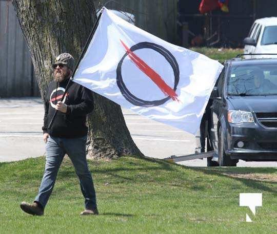 Victoria Park Cobourg Protest April 24, 20211662