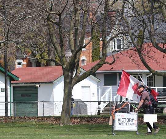 Victoria Park Cobourg Protest April 24, 20211669