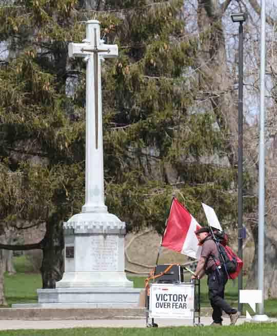 Victoria Park Cobourg Protest April 24, 20211670