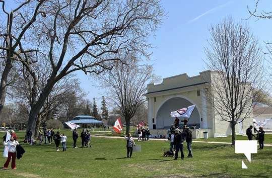 Victoria Park Cobourg Protest April 24, 20211686
