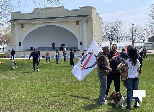 Victoria Park Cobourg Protest April 24, 20211687
