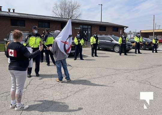 Victoria Park Cobourg Protest April 24, 20211690