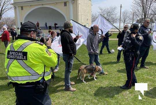 Victoria Park Cobourg Protest April 24, 20211695