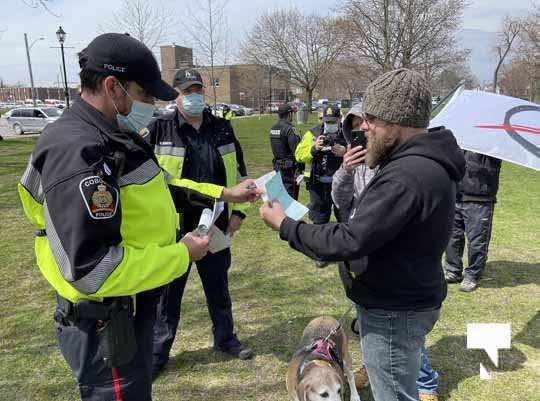 Victoria Park Cobourg Protest April 24, 20211697